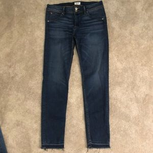 Hudson mid rise ankle skinny size 29